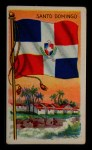 1911 Flags of All Nations T59 #115 REC  Santo Domingo Front Thumbnail