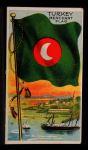 1911 Flags of All Nations T59 #140 REC  Turkey Merchant Flag Front Thumbnail