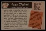 1955 Bowman #276  Ivan Delock  Back Thumbnail