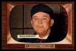 1955 Bowman #295  E.L. Ballanfant  Front Thumbnail