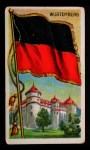 1911 Flags of All Nations T59 #150 JAC  Wurtemberg Front Thumbnail
