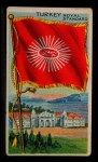 1911 Flags of All Nations T59 #141 REC  Turkey Royal Standard Front Thumbnail