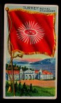 1911 Flags of All Nations T59 #141 BR  Turkey Royal Standard Front Thumbnail