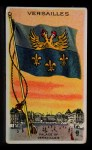 1911 Flags of All Nations T59 #146 JAC  Versailles Front Thumbnail