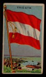 1911 Flags of All Nations T59 #136 BR  Trieste Front Thumbnail