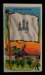 1911 Flags of All Nations T59 #38 REC  Edinburgh Front Thumbnail