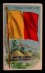 1911 Flags of All Nations T59 #47 BR  French Colonies East Front Thumbnail