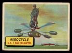 1957 Topps Planes #42 BLU  Aerocycle Front Thumbnail