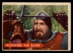 1957 Topps Robin Hood #59   Blocking The Blow Front Thumbnail