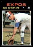 1971 Topps #434  Gary Sutherland  Front Thumbnail