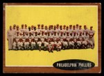 1962 Topps #294   Phillies Team Front Thumbnail