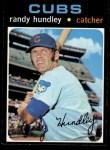 1971 Topps #592  Randy Hundley  Front Thumbnail