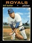 1971 Topps #681  Bill Butler  Front Thumbnail