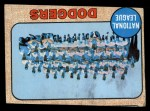 1968 Topps #168   Dodgers Team Front Thumbnail