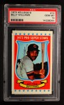 1973 Kelloggs #10  Billy Williams  Front Thumbnail