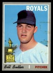 1970 Topps #377  Bill Butler  Front Thumbnail