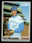 1970 Topps #562  Ted Abernathy  Front Thumbnail