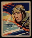 1933 National Chicle Sky Birds #34 A Frank M. Hawks   Front Thumbnail