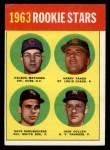 1963 Topps #54 ^COR^  -  Dave DeBusschere / Nelson Matthews / Harry Fanok / Jack Cullen  Rookies  Front Thumbnail
