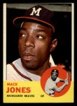 1963 Topps #137  Mack Jones  Front Thumbnail