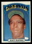 1972 Topps #336  Marty Martinez  Front Thumbnail