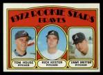 1972 Topps #351   -  Tom House / Jimmy Britton / Rick Kester Braves Rookies   Front Thumbnail