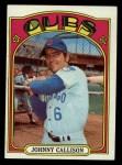 1972 Topps #364  Johnny Callison  Front Thumbnail