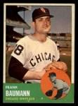 1963 Topps #381  Frank Baumann  Front Thumbnail