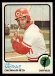 1973 Topps #28  Hal McRae  Front Thumbnail