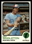 1973 Topps #232  Ken Singleton  Front Thumbnail