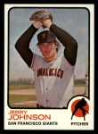 1973 Topps #248  Jerry Johnson  Front Thumbnail