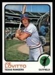 1973 Topps #276  Joe Lovitto  Front Thumbnail
