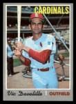 1970 Topps #256  Vic Davalillo  Front Thumbnail