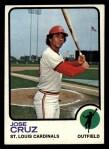 1973 Topps #292  Jose Cruz  Front Thumbnail