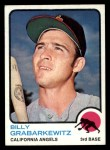 1973 Topps #301  Billy Grabarkewitz  Front Thumbnail