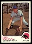 1973 Topps #416  Paul Schaal  Front Thumbnail