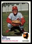 1973 Topps #467  Mike Ryan  Front Thumbnail
