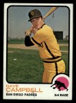 1973 Topps #488  Dave Campbell  Front Thumbnail