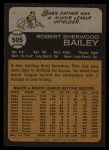 1973 Topps #505  Bob Bailey  Back Thumbnail