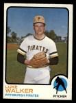 1973 Topps #187  Luke Walker  Front Thumbnail