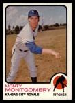 1973 Topps #164  Monty Montgomery  Front Thumbnail
