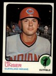 1973 Topps #247  Del Unser  Front Thumbnail