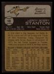 1973 Topps #18  Leroy Stanton  Back Thumbnail