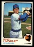 1973 Topps #21  Randy Hundley  Front Thumbnail