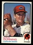 1973 Topps #53  Steve Dunning  Front Thumbnail