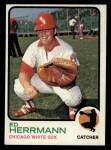 1973 Topps #73  Ed Herrmann  Front Thumbnail