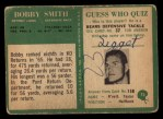 1966 Philadelphia #73  Bob Smith  Back Thumbnail