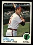 1973 Topps #75  Vada Pinson  Front Thumbnail