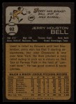 1973 Topps #92  Jerry Bell  Back Thumbnail
