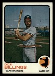 1973 Topps #94  Dick Billings  Front Thumbnail